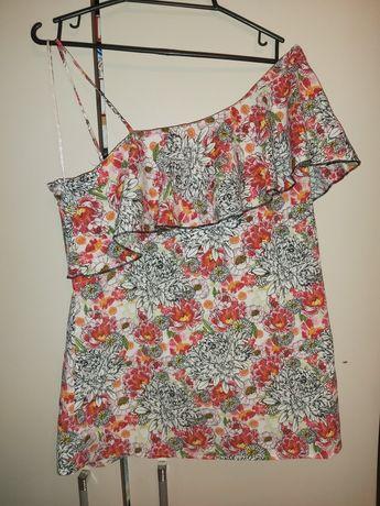 Bluzeczka letnia kwiaty rozm M