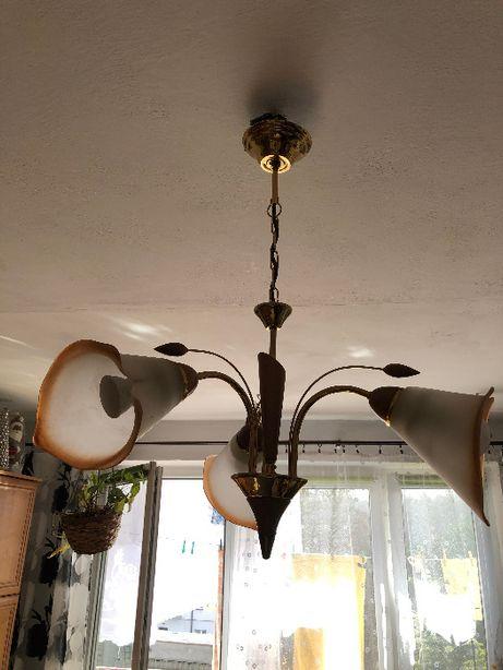 Żyrandol Lampa 3 żarówki