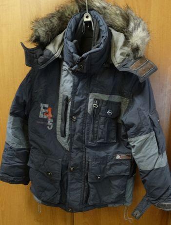 Детская теплая зимняя куртка на мальчика 3-6лет