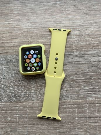 Набор ремень бампер apple watch