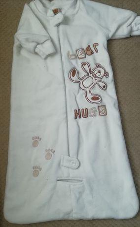 Конверт-спальный мешок в с рукавами+подарок