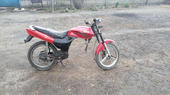 Zongshen lzx 125-4b  з дукументами Транзит цена за весь мотоцикл