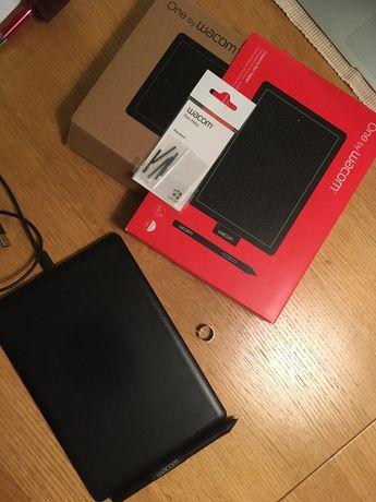 Tablet graficzny Wacom One CTL-472-N czerwony