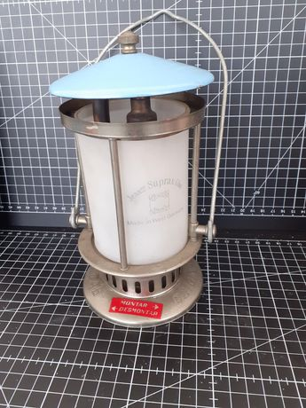 Lamparina Vintage para campismo.  Made in West Germany Jenaer Suprax G