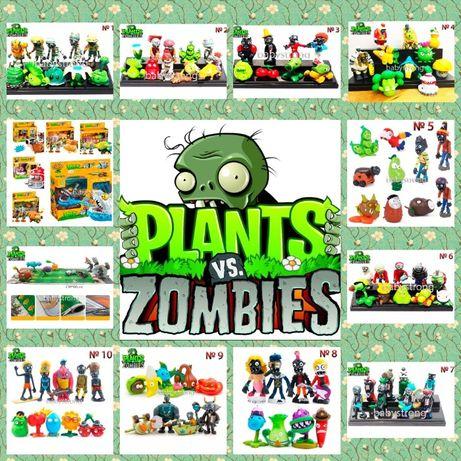 Растения против зомби 10 видов наборов | Plants vs Zombies Игрушки