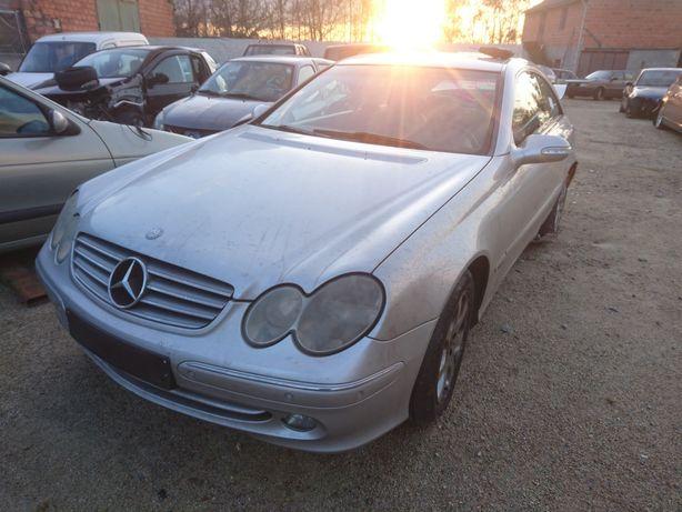 Peças Mercedes CLK 270cdi, motor, caixa, frente completa airbags porta