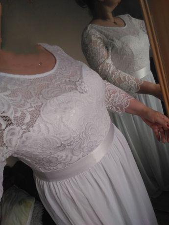 Sukienka Biała 50