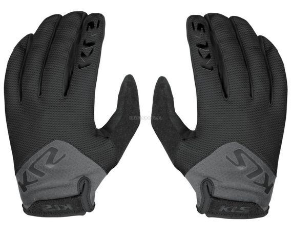 Rękawiczki rowerowe długie Kellys RANGE BLACK dost.roz. S-M-L