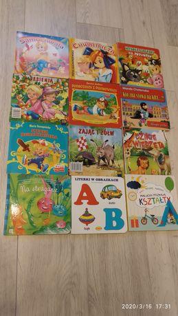 Książka książeczka 12 sztuk