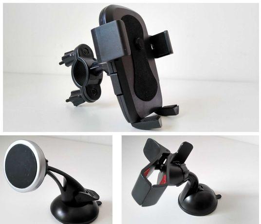 3x Suporte para Telemóvel Smartphone para bicicleta moto carro ventosa