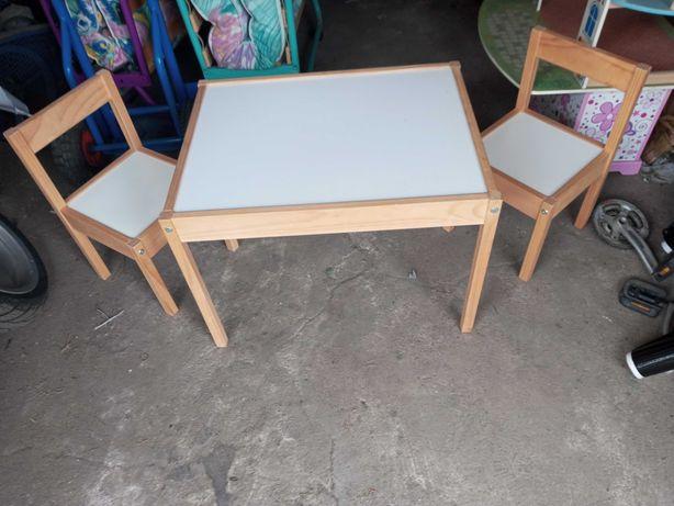 Stolik i krzesełka dla dziecka uzywane
