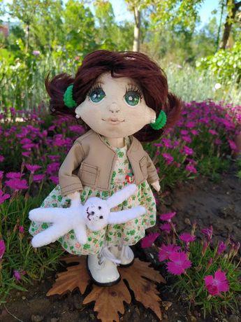 Текстильна лялька ручної роботи.  Кукла ручной работы