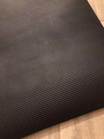 Tapete Fitness Preto 1,80 x 0,90 com 5 mm de espessura