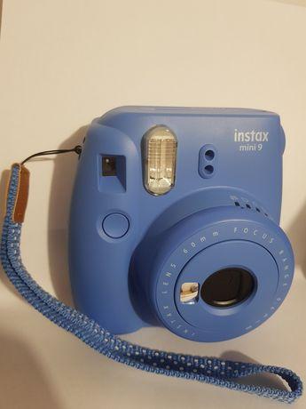 Niebieski Instax mini 9 z pokrowcem i albumem gratis!
