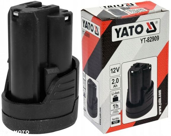 YATO AKUMULATOR BATERIA LI-ION 12V 2,0AH YT-82909