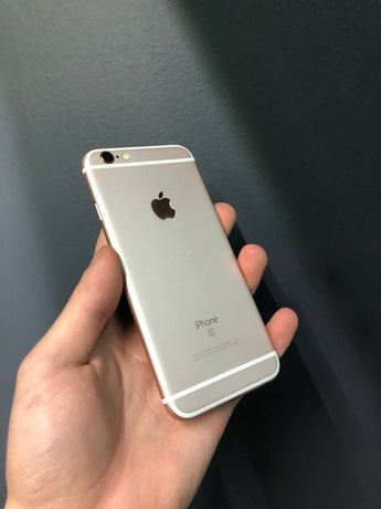 Айфон iPhone 6S 16GB Rose Gold Розовый также 5S/6/SE/7/8/X/XR/Plus