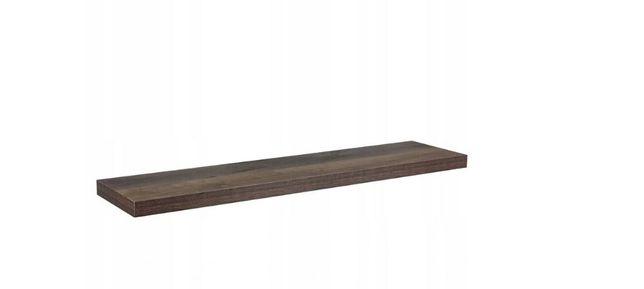 półka wisząca brązowa 60cm - nowa