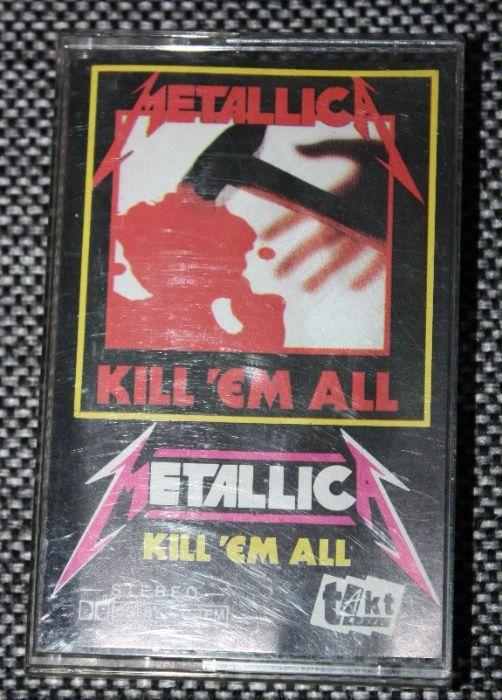 Kaseta magnetofonowa Metallica - Kill`em all