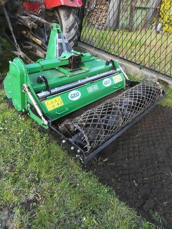 Glebogryzarka separacyjna siew trawy Koszenie trawy karczowanie nieuz.