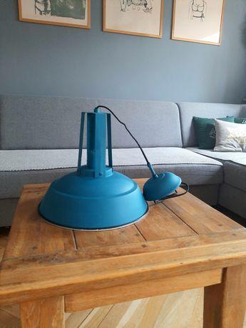 Turkusowa lampa Light&Living model Inez