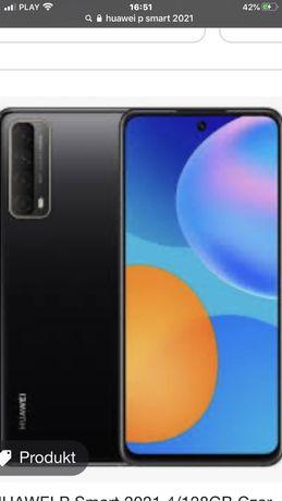 Huawei Psmart 2021 4/128gb czarny  dual