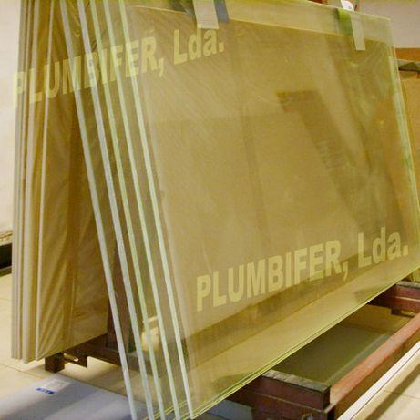 Vidro chumbineo ou plumbífero para proteção radiologica