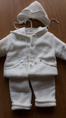 Komplet do chrztu dla chłopca Angelino, rozmiar 68