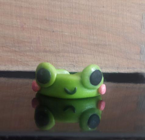 frog ring/pierścionek żabka