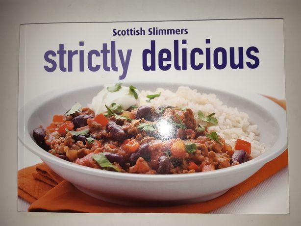 Книга рецептов на английском языке, диетическое питание, кулинария