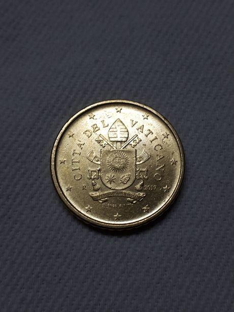 50 Cêntimos Vaticano. 2017 Euro
