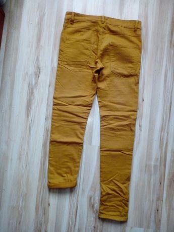 Spodnie chłopięce miodowe 158 cm