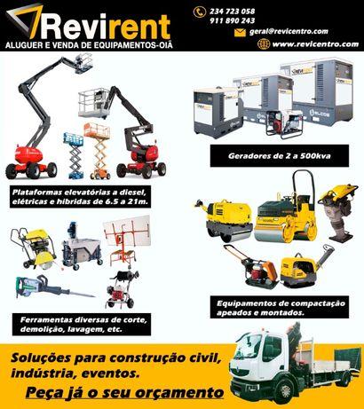 Revirent aluguer/venda de equipamentos construção, industria e eventos