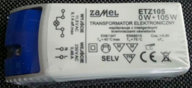Transformator Zamel 11,5V, 0-105W model ETZ105, zasilacz elektroniczny