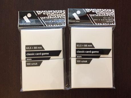 Koszulki na karty rebel 63,5x88 100 sztuk