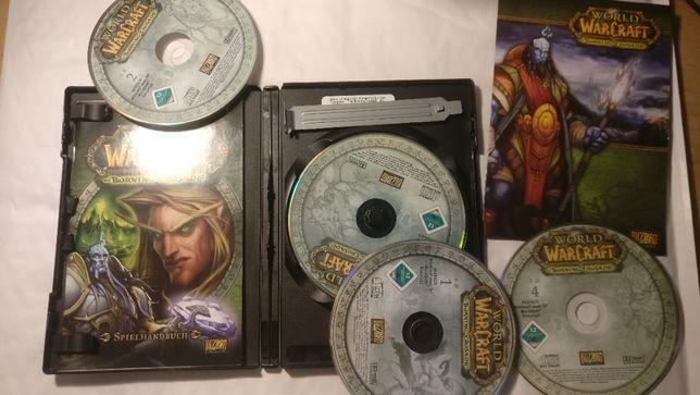 World of Warcraft Burning Crusade лицензионный диск pc,mac