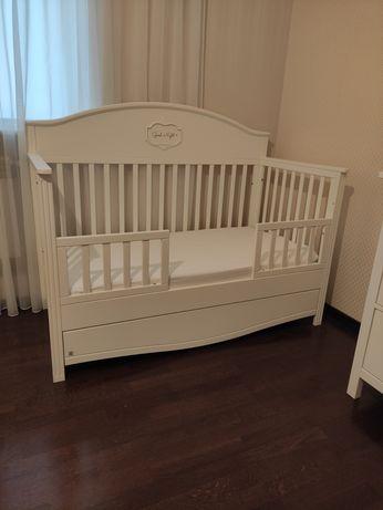 Ліжечко дитяче Дуэт Good Night (кроватка + комод + пеленатор)