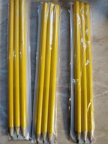 Простые графитовые карандаши 4H,HB,4B разной твердости ,можно оптом