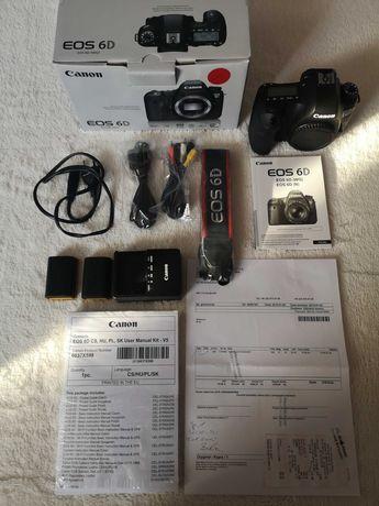 Canon EOS 6D przebieg 13500 zdjęć