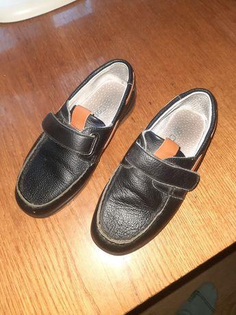 Туфли кожа на мальчика