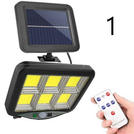 Прожектор на солнечной батарее различной мощности светильник