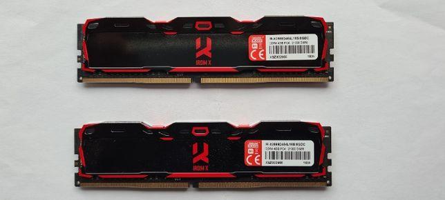 GOODRAM 8GB (2x4GB) 2666MHz CL16 IRDM X Black