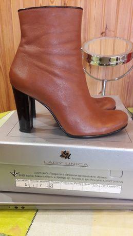 Ботинки женские кожаные 38 размер.