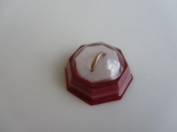 Obrączka Złota 583P 1,743G R17 Klasyczna Szerokość 2,8 mm
