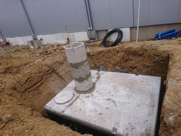 Szambo szamba betonowe zbiornik na wodę Poznań Łódź Kalisz Piła 12m/3