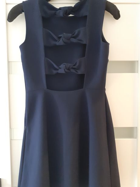 MEGA OFERTA Zara S 36 sesja sukienka wieczorowa mala czarna koktajlowa