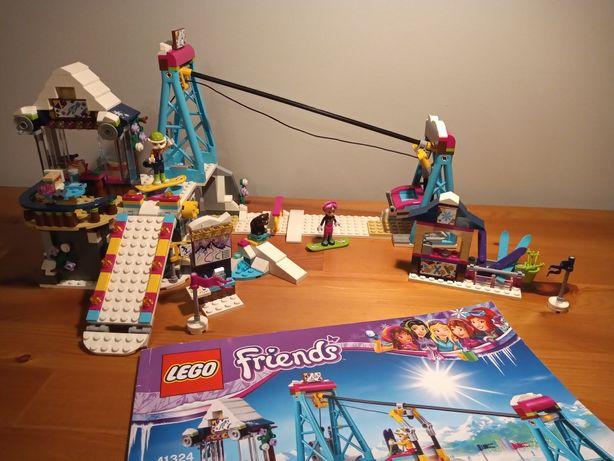 LEGO Friends 41324 Wyciąg narciarski w kurorcie Oryginalny