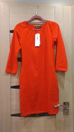 Sukienka Fasardi czerwona casual nowa z metkami