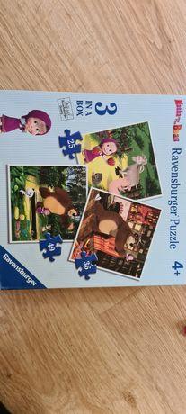 Puzzle Masza i Niedźwiedź