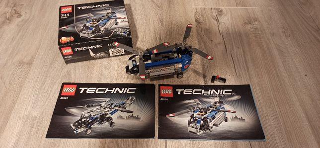 Klocki LEGO 42020 Śmigłowiec z 2-ma Wirnikami