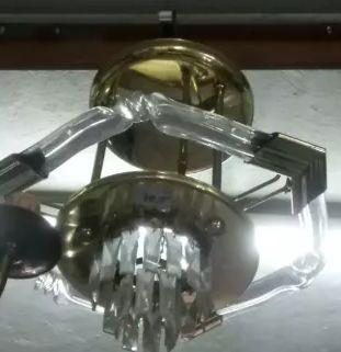 Candeeiro tipo Cristal